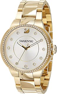 Swarovski Womens Quartz Watch, Analog Display and Stainless Steel Strap 5213729