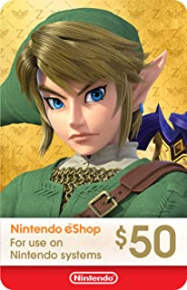 Nintendo America Posa Gift Card $50