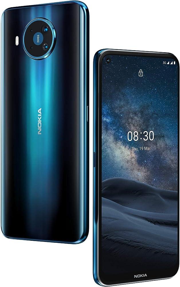 Nokia 8.3 5g smartphone con schermo da 6,81 pollici,android one, qualcomm snapdragon elementi ottici zeiss TA-1243
