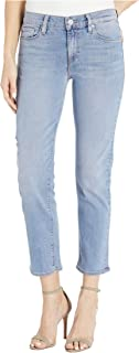 Women's Nico Mid Rise Straight Leg Crop Jean