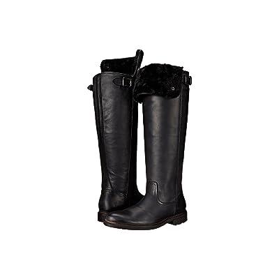 Frye Mara Button OTK (Black Soft Classic Leather) Cowboy Boots