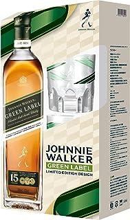 ジョニーウォーカー グリーンラベル15年 オリジナルロックグラス2個付ギフトボックス [ ウイスキー イギリス 700ml ] [ギフトBox入り]