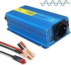 Yinleader Convertisseur 12v 220v Pur Sinus 1000W/2000W convertisseur Pur Sinus avec double USB