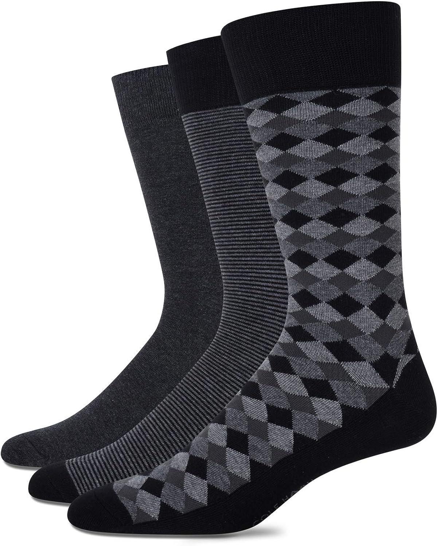 Cole Haan Men's Socks - 3 Pack Crew