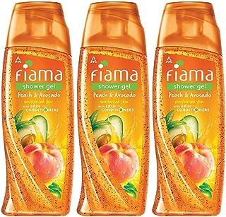 Fiama Peach and Avocado Mild Dew Shower Gel, 250 ml (Pack of 3)