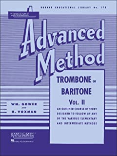 Rubank Advanced Method - Trombone Or Baritone, Volume 2