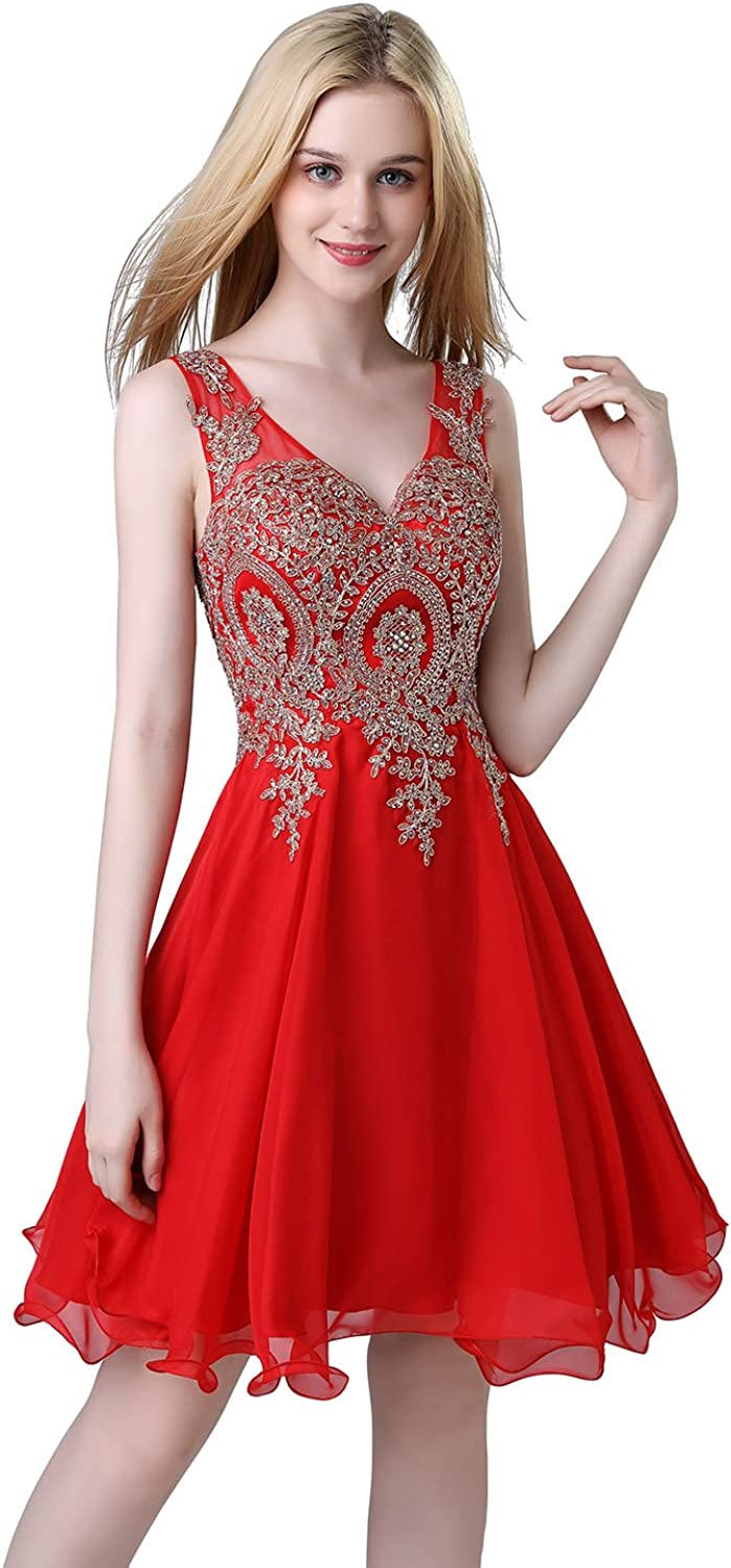 Belle House Junior's Lace Short Prom Party Ball Gowns Sweetheart Homecoming Dresses