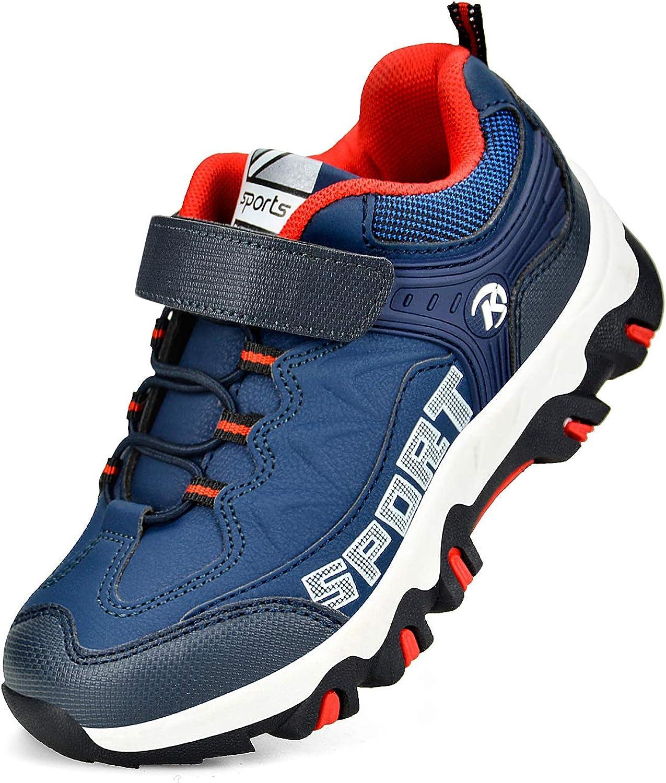 Biacolum Boys Girls Shoes Outdoor Hiking Waterproof Kids Sneaker