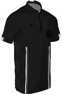 black soccer referee hat