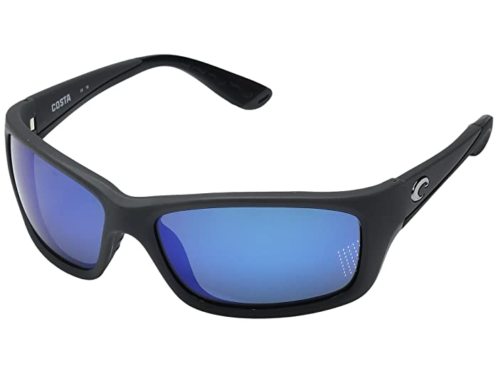 Costa  Jose (Matte Gray Frame/Blue Mirror Glass W580) Fashion Sunglasses