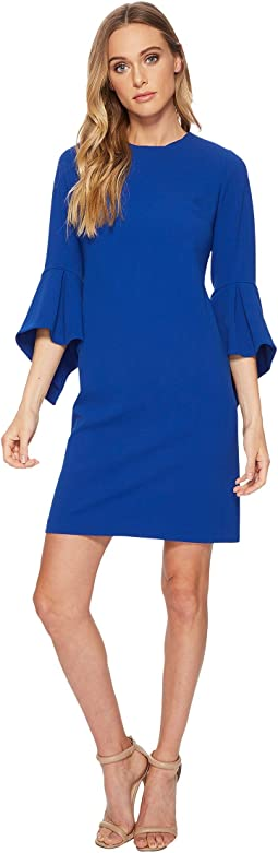 Calvin Klein - Shift Dress with Dramatic Sleeve CD8C12JE