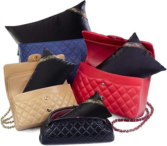 Bag-a-Vie Handbag Purse Shaper Pillows [4-Pack] Made to fit Chanel