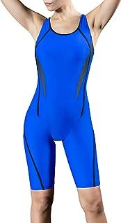 Women Unitard Swimwear Surfing Suit Sports One Piece with Shorts Swimsuit