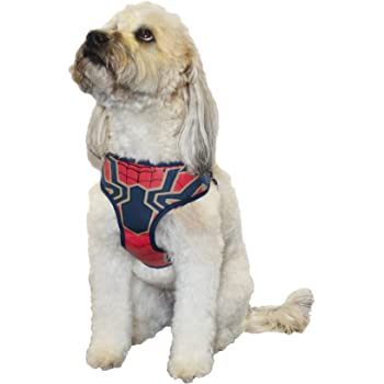 Superhero Dog Harness Red Harness for Medium Size Dog Breeds DC Comics for Pets Wonder Woman Harness for Dogs