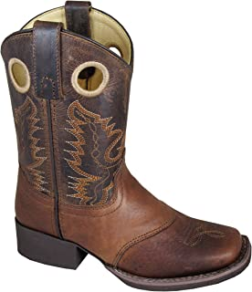 youth square toe western boots