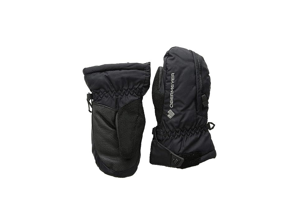Obermeyer Kids Gauntlet Mitten (Little Kids/Big Kids) (Black) Extreme Cold Weather Gloves