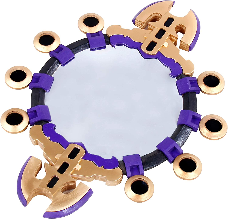 Mtxc Tamamo no Mae Cosplay Accessory Mirror Purple