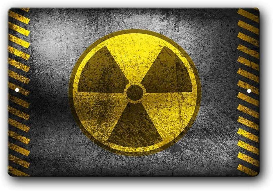 Creme Alpha Radium Metal Sign Ad Humorous Home Decor FREE SHIPPING