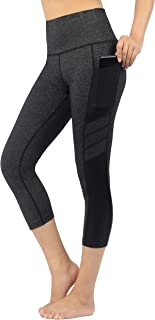 Zinmore Women's High Waist Yoga Pants Exercise Pants Gym Active Tights Workout Leggings Yoga Capris Leggings