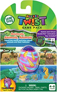 LeapFrog RockIt Twist Animals, Animals, Animals Game Pack