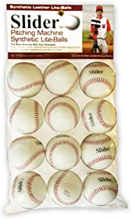 Heater Sports Slider Lite Synthetic Leather Pitching Machine Baseballs