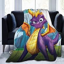 "Jinfugongmao Spy_ro Ultra-Soft Micro Fleece Blanket Super Soft Plush Fuzzy Bed Throw Microfiber Holiday Winter Cabin Warm Blankets 50""x40"""