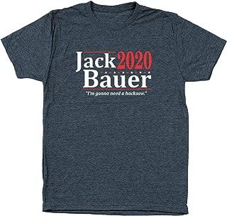 Jack Bauer 2020 Election Mens Tri-Blend Shirt