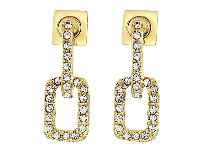 b1b9fd20d Vince Camuto Pave Link Stud Earrings at Zappos.com