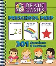 Brain Games Kids: Preschool Prep - 301 Questions and Answers - PI Kids