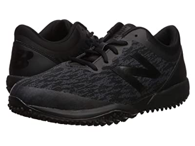 New Balance 4040v5 Turf (Triple Black/Black) Men