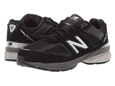 New Balance Kids 990v5 Launch (Little Kid) (Black) Kids Shoes