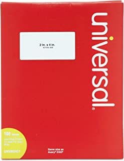 universal laser printer labels 80107 template
