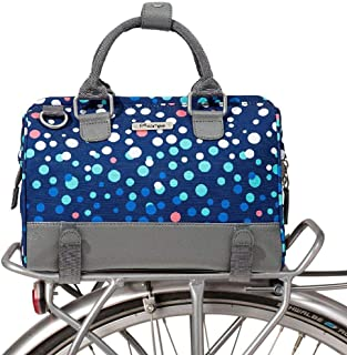 Po Campo Uptown Bike Trunk Bag   Stylish Weatherproof Bike Satchel for Rear Rack   Multiple Colors