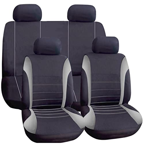 Leather Look MAYFAIR Black FRONT Car Seat Covers VAUXHALL ZAFIRA TOURER