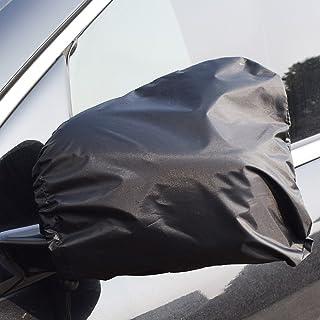 HONCENMAX Auto Seitenspiegelabdeckung   Auto Außenansicht Rückspiegel Abdeckungen   Universal 13 '' x 11 '' Für Autos, SUV, Pickup, Truck   Schnee, EIS und Frost Schwarz