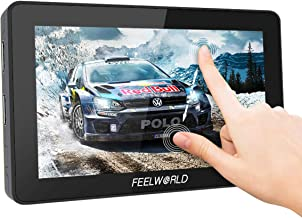 Feelworld F6 Plus, 5.5 inch Touch Screen On-Camera Field Monitor, 3D LUT 1920x1080 with 4K HDMI Input/Loop Output/DC Output
