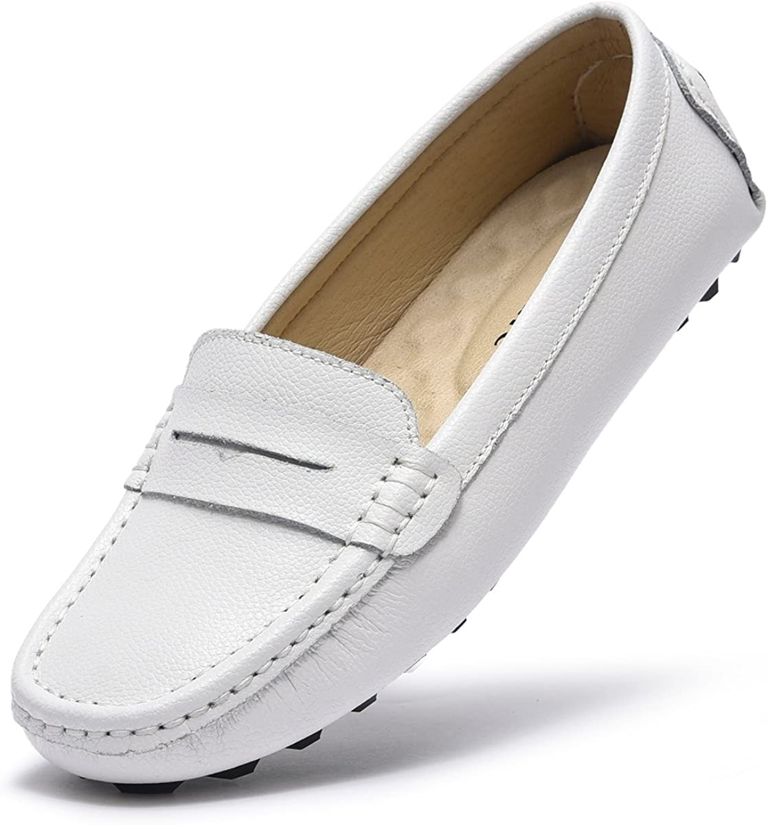 Artisure Women's Classic Genuine Leather Penny Loafers New products, world's highest quality popular! M Driving Max 57% OFF