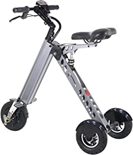 TopMate ES30 Electric Scooter, Mini Foldable Tricycle With Light Weight 13KG,Speed 20KM/H, Full Charge 35KM Range,Suitable for Travel and Leisure Activities,Easy To Be Placed In The Trunk