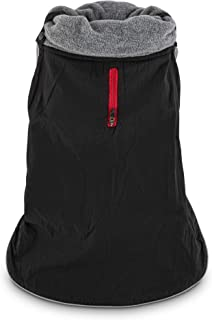 GOOD2GO Black Funnel Dog Coat, X-Large
