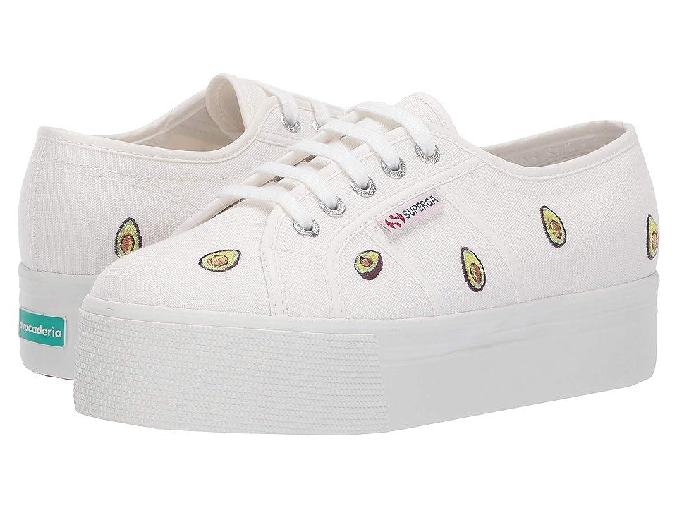 Superga 2790-Avocadocotw (White Multi) Women