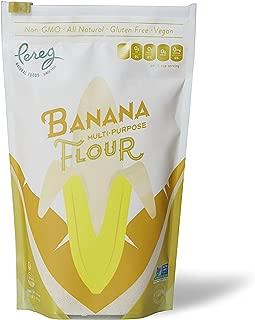 Pereg Natural Foods Multi-Purpose Alternative Gluten Free Banana Flour, Non-GMO, Kosher, Vegan, 1lb