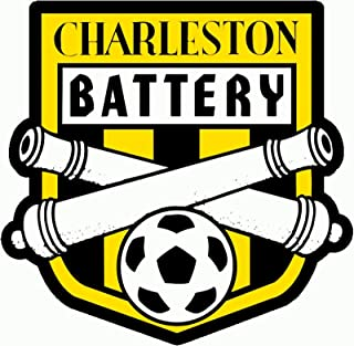 Vinyl Sticker Decal Charleston Battery FC USL Soccer Car Truck Window Bumper Laptop, 11