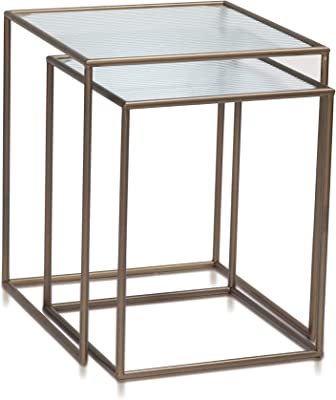 Home-table ZWD Sala Mesa, cuadrilátero mármol Chapa de Hierro Mesa ...