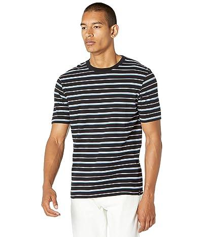 Scotch & Soda Classic Patterned Cotton-Jersey Crew Neck T-Shirt
