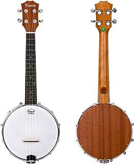 Kmise 4 cuerdas Banjo Ukulele Uke Banjo lele Concierto 23