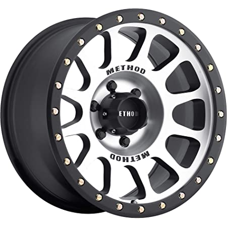 "Method Race Wheels 305 NV Machined/Black Street Loc 17x8.5"" 6x5.5"", 0mm offset 4.75"" Backspace, MR30578560300"