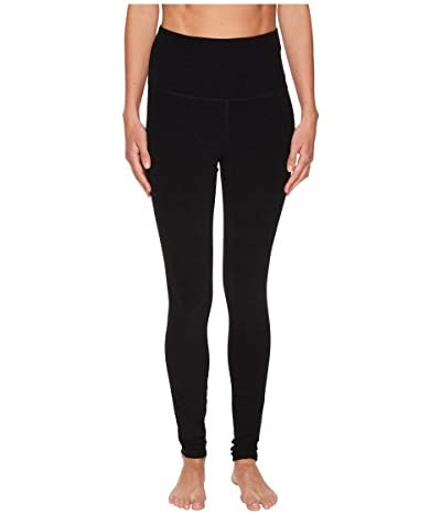 Beyond Yoga Spacedye High Waisted Long Leggings (Darkest Night) Women