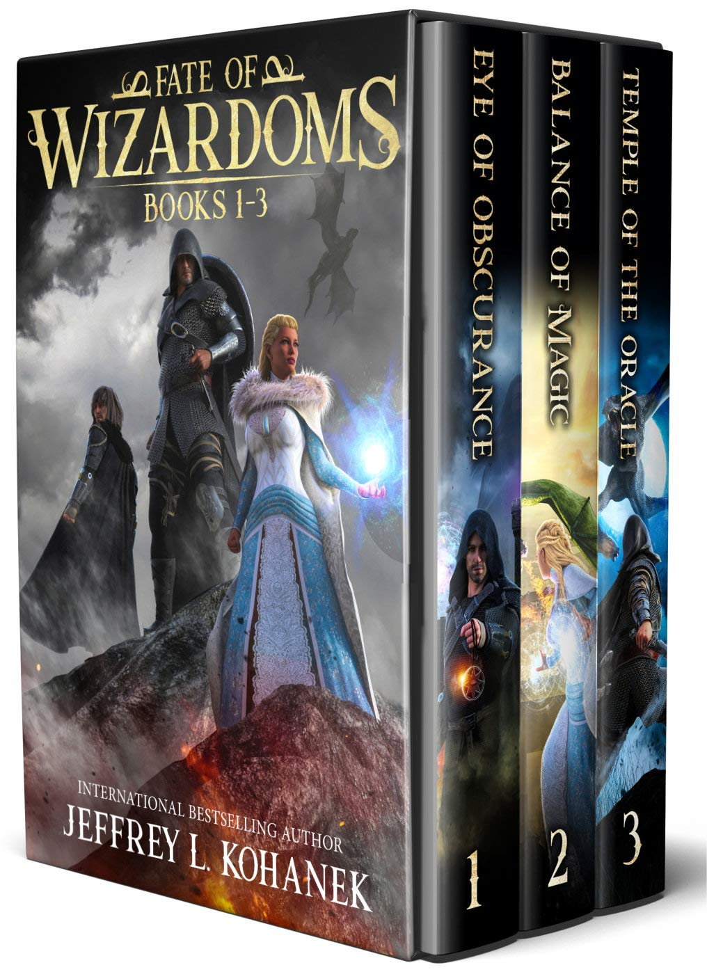Fate of Wizardoms Boxed Set: An Epic Fantasy Series, Books 1-3 (Wizardoms Omnibus Book 1)