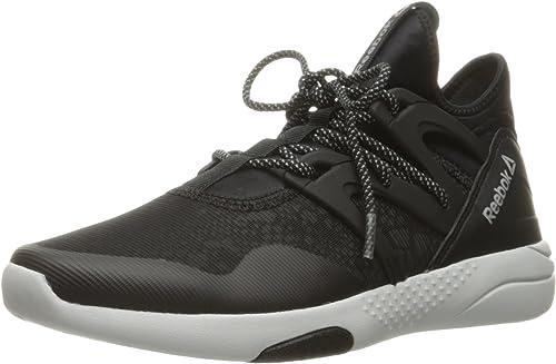 Reebok Wohommes Hayasu Cross-Trainer chaussures, noir Skull gris argent Reflective, 10 M US