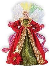 Christmas Fiber Optic Angel Decorative Statue - Colorful Holiday Decoration
